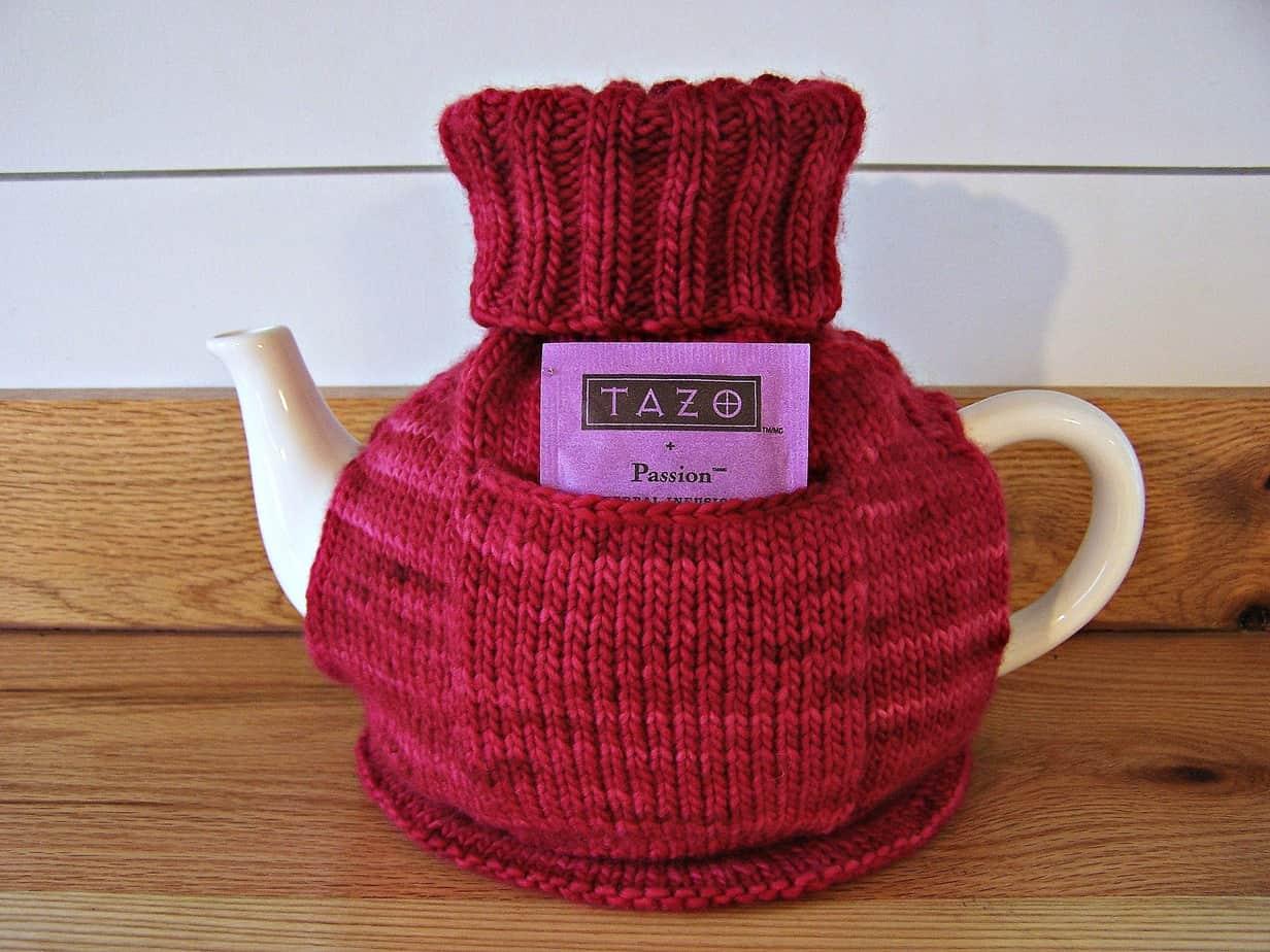 Cranberry Cottage Tea Cozy Pattern