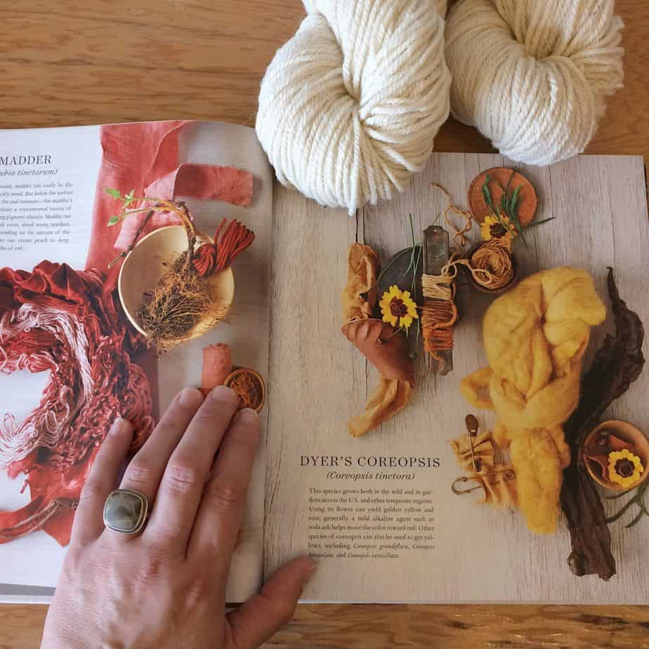 The Beauty of Natural Dyeing | Wool & Honey