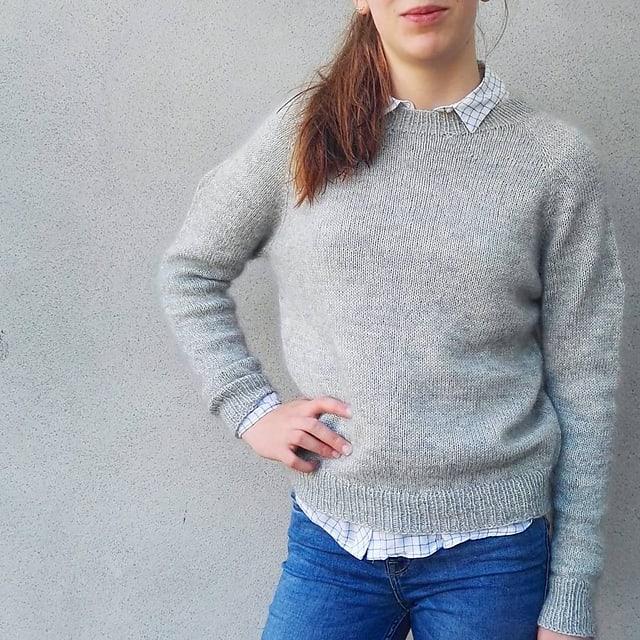 No Frills Sweater Kit Wool Honey