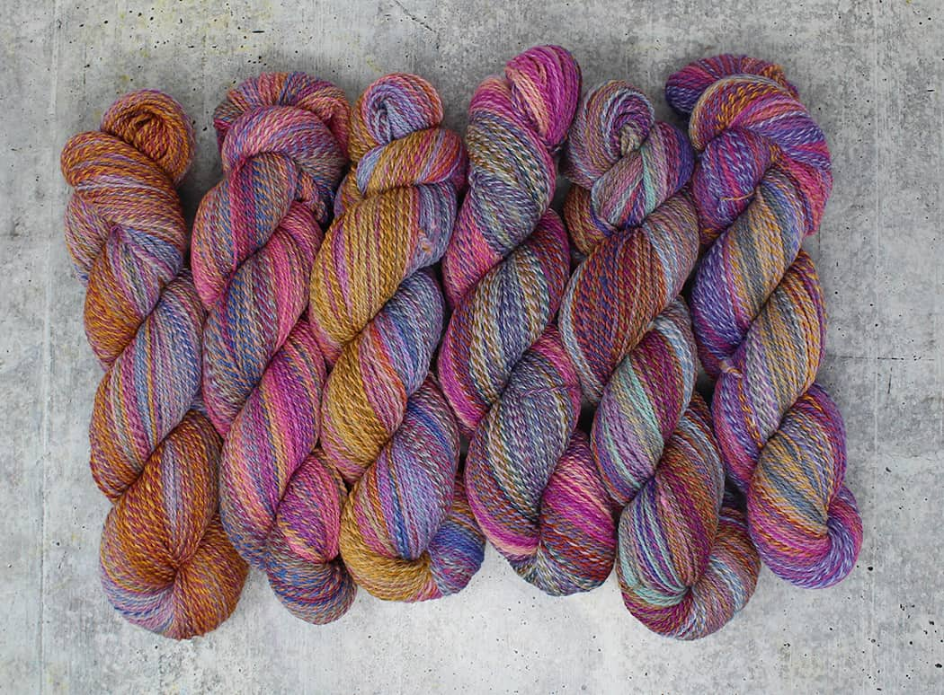 Wool walk old pink